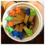 Popsicle Stick Chore Chart: Pinterest SUCCESS